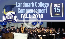 Fall 2018 Landmark College Commencement
