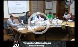 Townshend Selectboard Mtg. 1/20/14