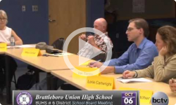 Brattleboro Union High School Bd. Mtg 10/6/14