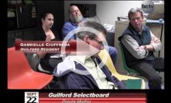 Guilford Selectboard Mtg 9/22/14