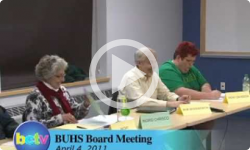 Brattleboro Union High School Bd. Mtg. 4/4/11