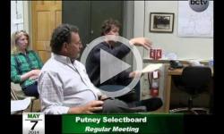 Putney Selectboard Mtg 5/7/14
