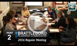 Brattleboro Planning Commission Mtg 5/2/16