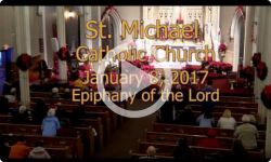 Mass from Sunday January 8, 2017