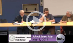 BUHS School Board Mtg. 5/5/14