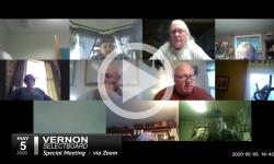 Vernon Selectboard: Vernon SB Mtg 5/5/20