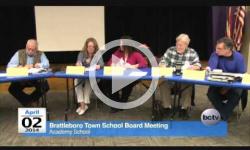Brattleboro Town School Bd. Mtg. 4/2/14