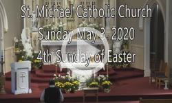 Mass from Sunday, May 3, 2020