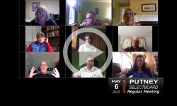 Putney Selectboard: Putney SB 5/6/20