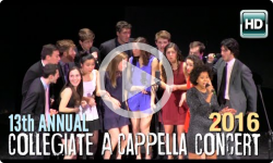 13th Annual A Cappella Concert 2/6/16