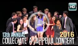 13th Annual A Cappella Concert 2/6/16