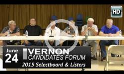 Vernon Candidate Forum 6/24/15