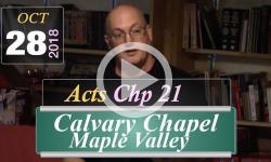 Calvary Chapel: Acts Chp 21