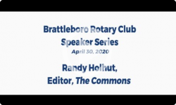 Brattleboro Rotary Club Speaker Series: with Peter Eden 4/23/2020