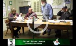 Putney Selectboard Mtg 12/17/14
