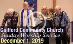 Guilford Church Service - 12/1/19