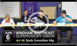 WSESU Act 46 Study Mtg 6/6/17