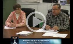 Newfane Selectboard Mtg. 5/1/14