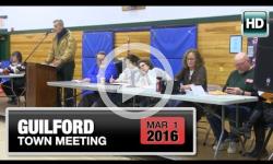 2016 Guilford Town Mtg 3/1/16