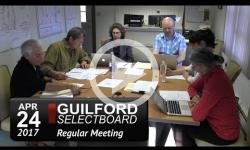 Guilford Selectboard Mtg 4/24/17