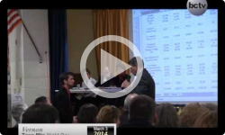 2014 Vernon Town Meeting Day 3/3 & 3/4/14 - Part One