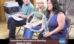 Townshend Selectboard Mtg. 8/5/13