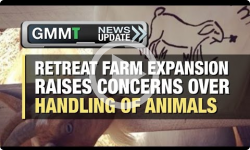GMMT: Concern for Animals at Retreat Farm 1/3/17 (News Clip)