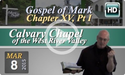 Calvary Chapel: March 8, 2015