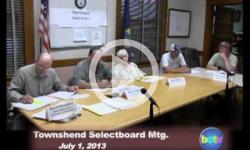 Townshend Selectboard Mtg 7/1/13