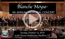 Blanche Moyse 4th Annual Memorial Concert J.S.Bach