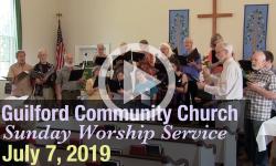 Guilford Church Service - 7/7/19