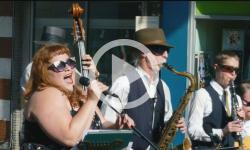 Downtown Brattleboro Gallery Walk presents - Zara Bode's Little Big Band
