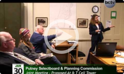Putney Selectboard - Planning Commission Special Mtg. 1/30/14