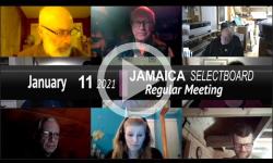 Jamaica Selectboard: Jamaica SB Mtg 1/11/21