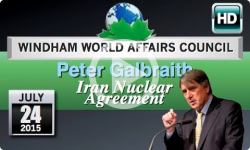 WWAC: Peter Galbraith - Iran Nuclear Agreement 7/24/15 [Excerpt]