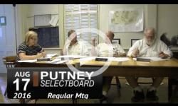 Putney Selectboard 8/17/16