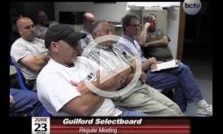Guilford Selectboard Mtg 6/23/14