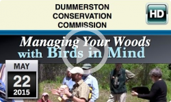 DCC: Managing Your Woods with Bird in Mind 5/22/15