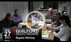 Guilford Selectboard Mtg 2/27/17