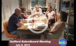 Guilford Selectboard Mtg 7/8/13