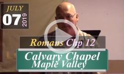 Calvary Chapel: Romans Chp 12