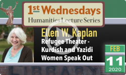1st Wednesdays Presents: Refugee Theater -  Kurdish and Yazidi Women Speak Out