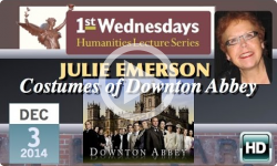 1st Wednesdays: Costumes of Downton Abbey