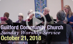 Guilford Church Service - 10/21/18