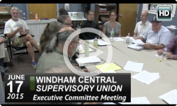 WCSU: Executive Committee Mtg 6/17/15