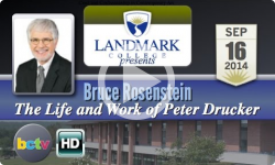Landmark College presents Bruce Rosenstein 9/16/14