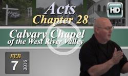 Calvary Chapel: February 7, 2016