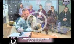Dummerston Selectboard Mtg 11/12/14