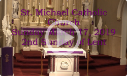 Mass from Sunday, March 17, 2019