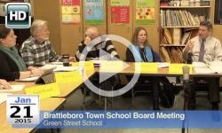 Brattleboro Town School Bd Mtg 1/21/15